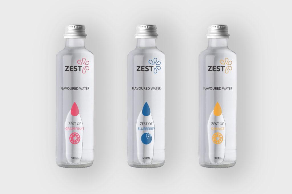 bouteille d'eau zest